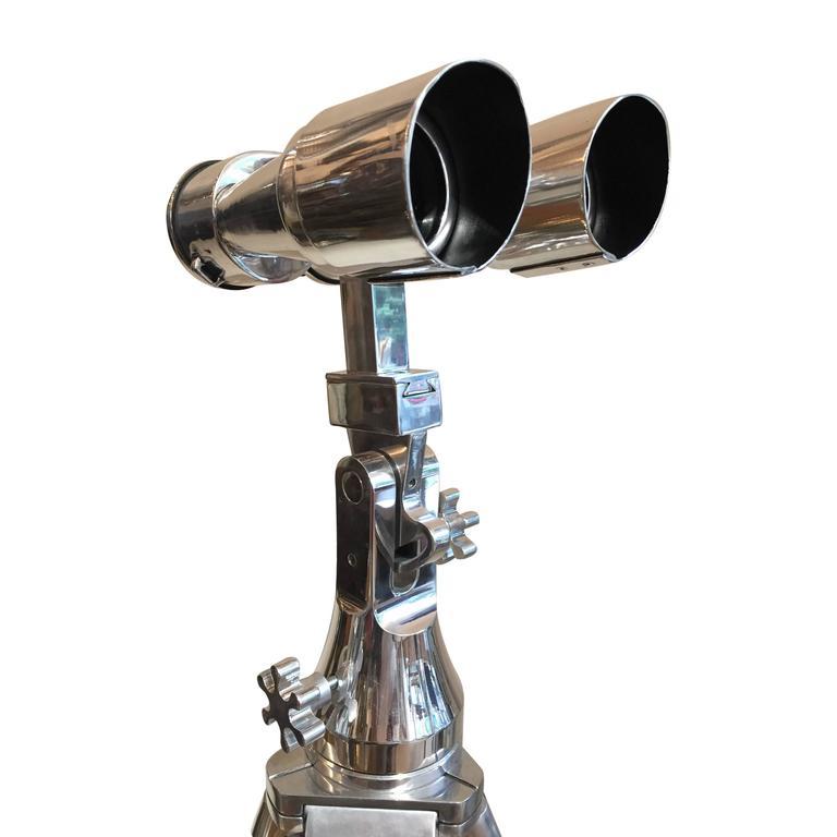 German WWII Carl Zeiss MSS 8 x 60 Binocular For Sale