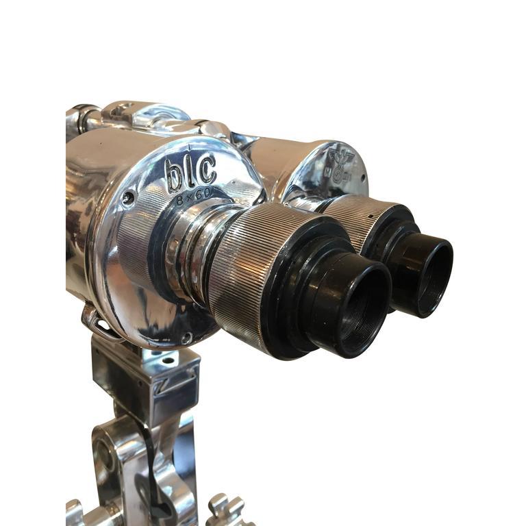 WWII Carl Zeiss MSS 8 x 60 Binocular In Good Condition For Sale In Aspen, CO