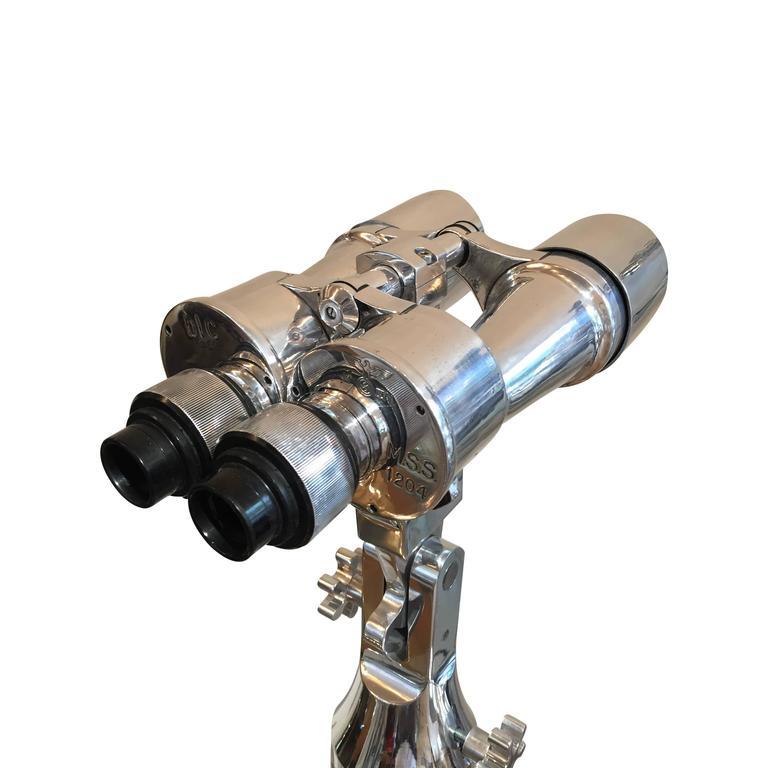 20th Century WWII Carl Zeiss MSS 8 x 60 Binocular For Sale