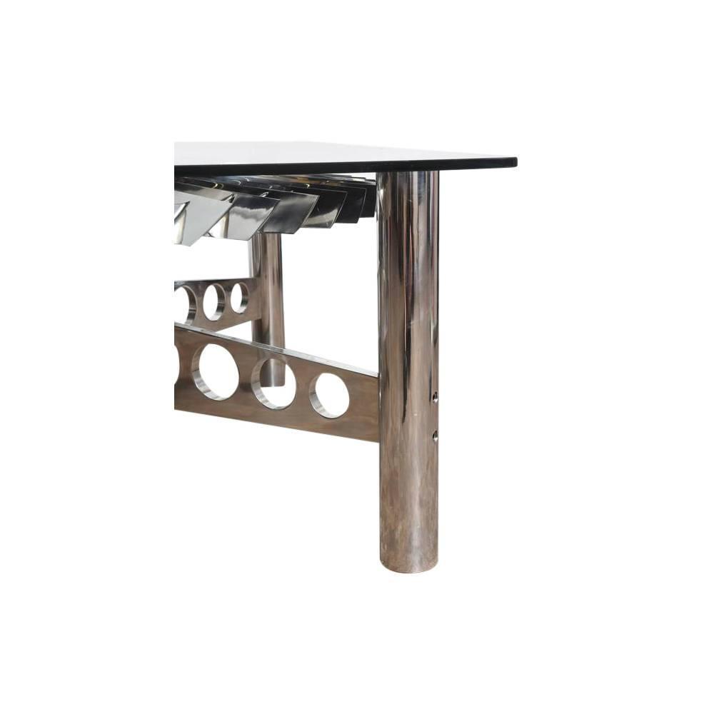 Large rolls royce titanium turbine table for sale at 1stdibs for Table titanium quadra 6