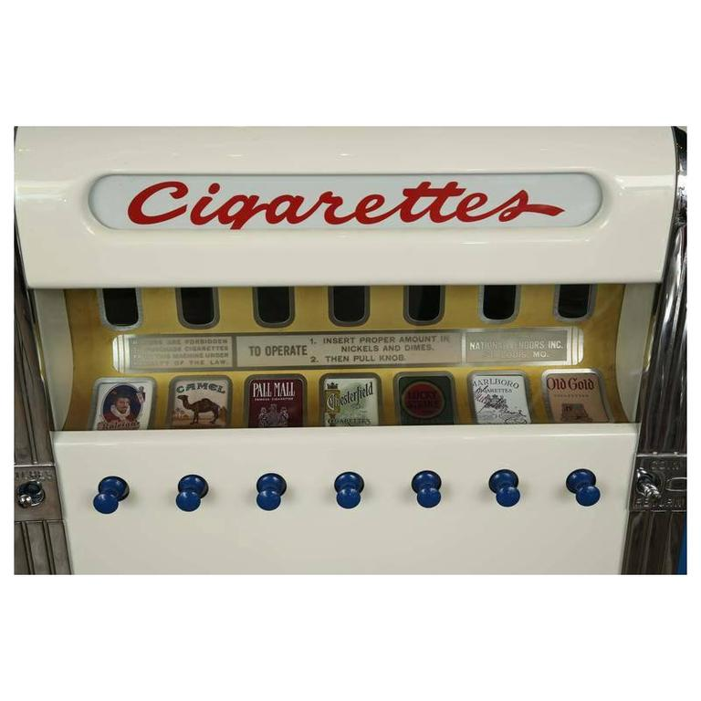 1940s National Cigarette Machine For Sale 1