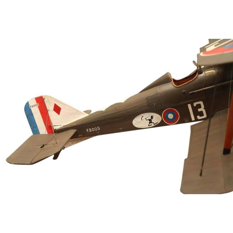 Large Vintage Hand-Built RAF SE5 Model Airplane For Sale 2