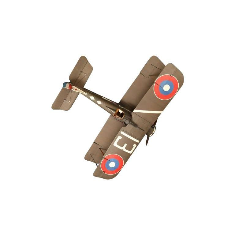 Large Vintage Hand-Built RAF SE5 Model Airplane For Sale 3