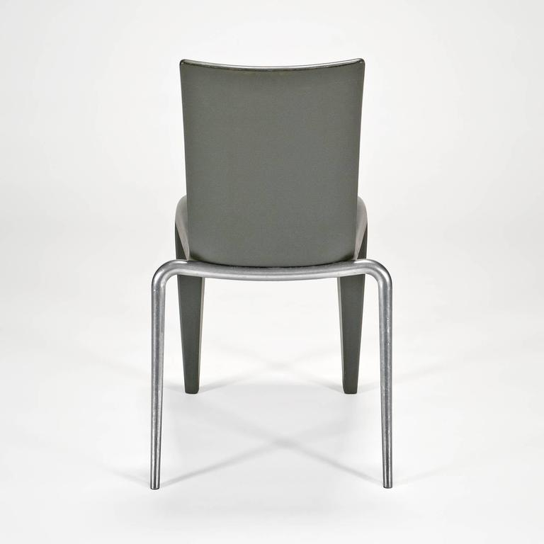 German Louis 20 Side Chair 'Prototype' in Grey by Philippe Starck for Vitra Edition For Sale