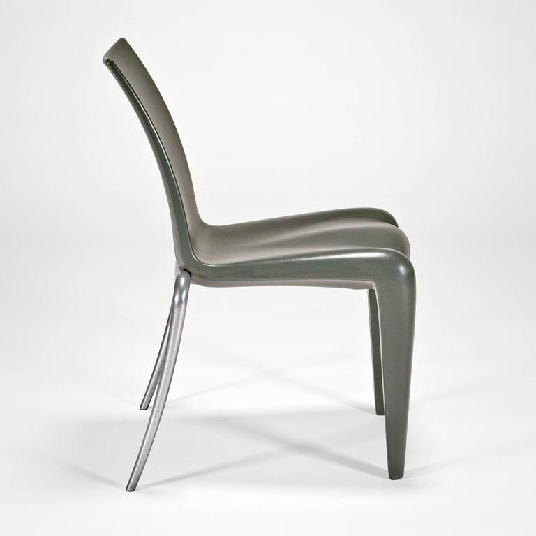Post-Modern Louis 20 Side Chair 'Prototype' in Grey by Philippe Starck for Vitra Edition For Sale