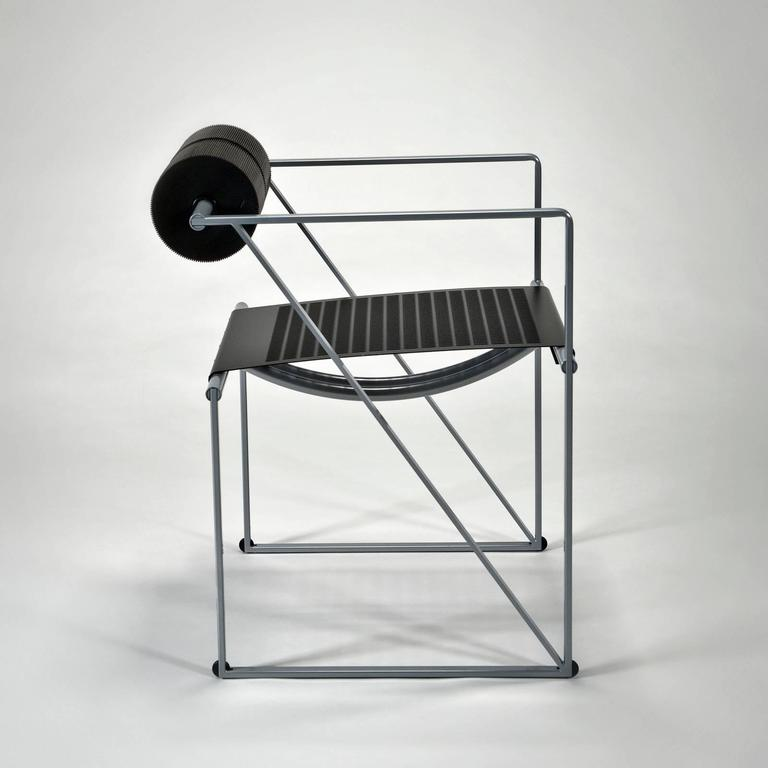 Seconda is more than a chair; it is architecture that you sit upon. Designed in 1982, this iconic chair shows the influence of all of Botta's mentors including Le Corbusier, Louis Kahn and Carlo Scarpa. The architectural lines of this chair design