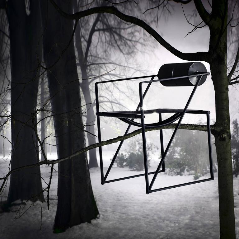 Late 20th Century Seconda Chair by Mario Botta for Alias