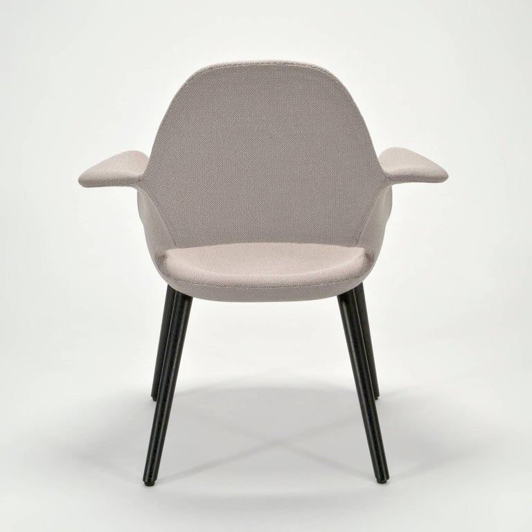 Post-Modern Pair of Organic Armchairs by Charles Eames and Eero Saarinen for Vitra For Sale
