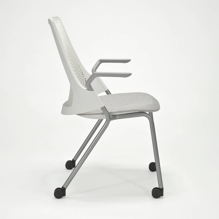 Modern Sayl Task Chairs on Casters by Yves Béhar for Herman Miller