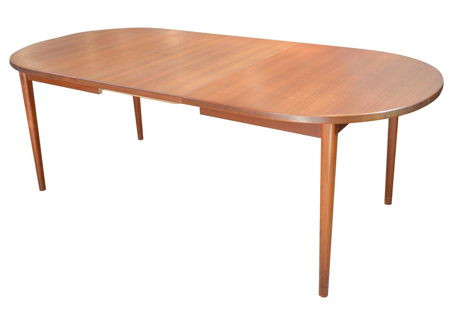 Nils Jonsson For Troeds Teak Dining Table With Two Leaves