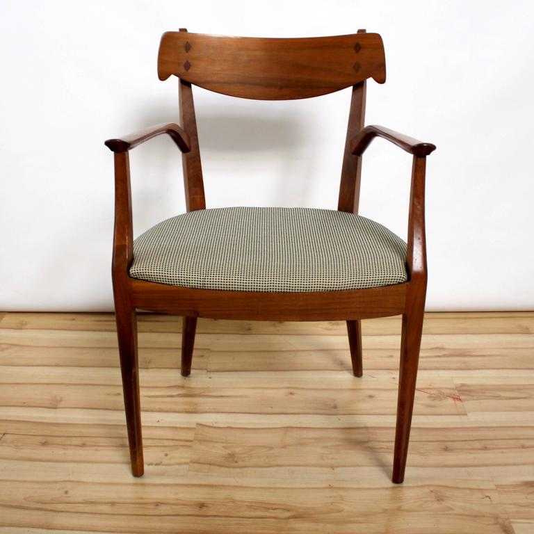 Six Kipp Stewart And MacDougall Dining Chairs For Drexel Declaration 2