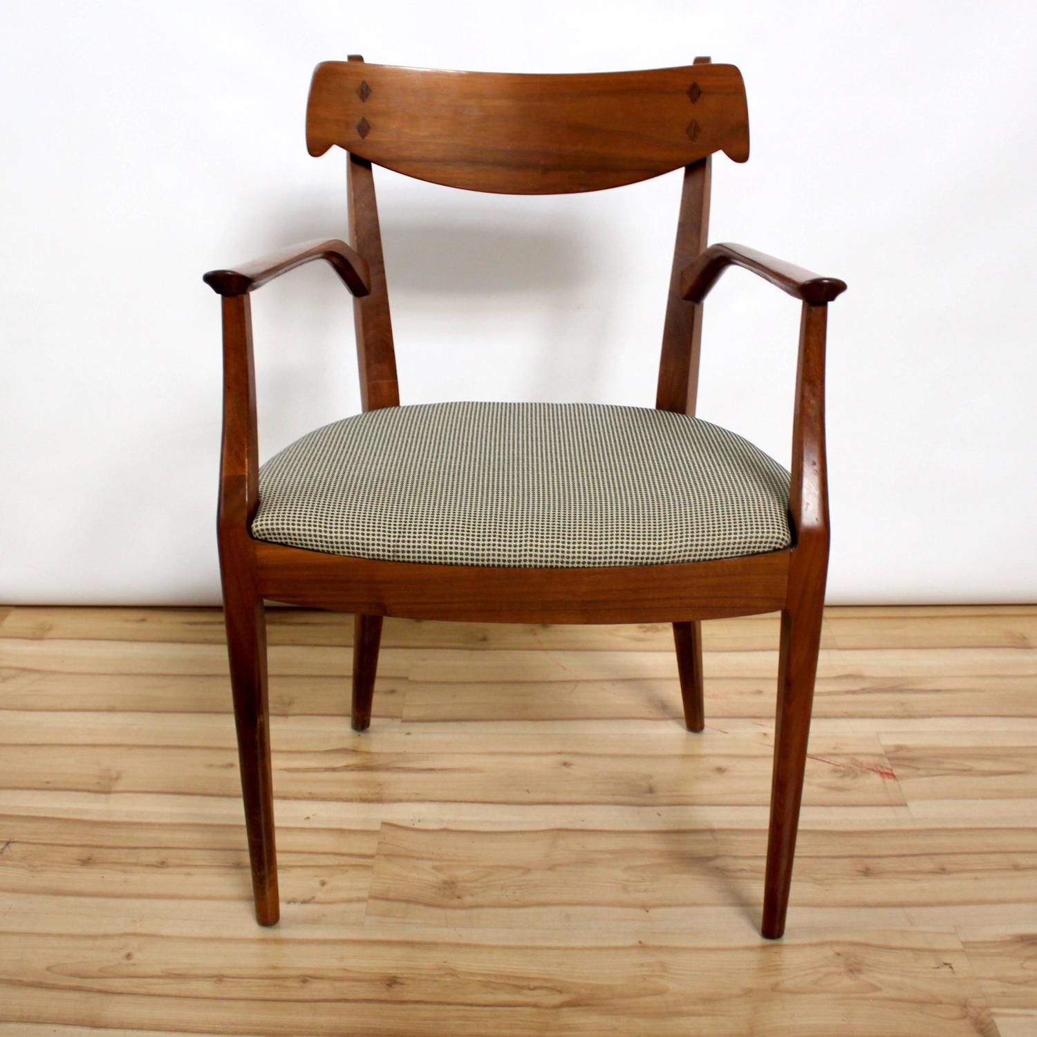 Six Kipp Stewart And Stewart MacDougall Dining Chairs For