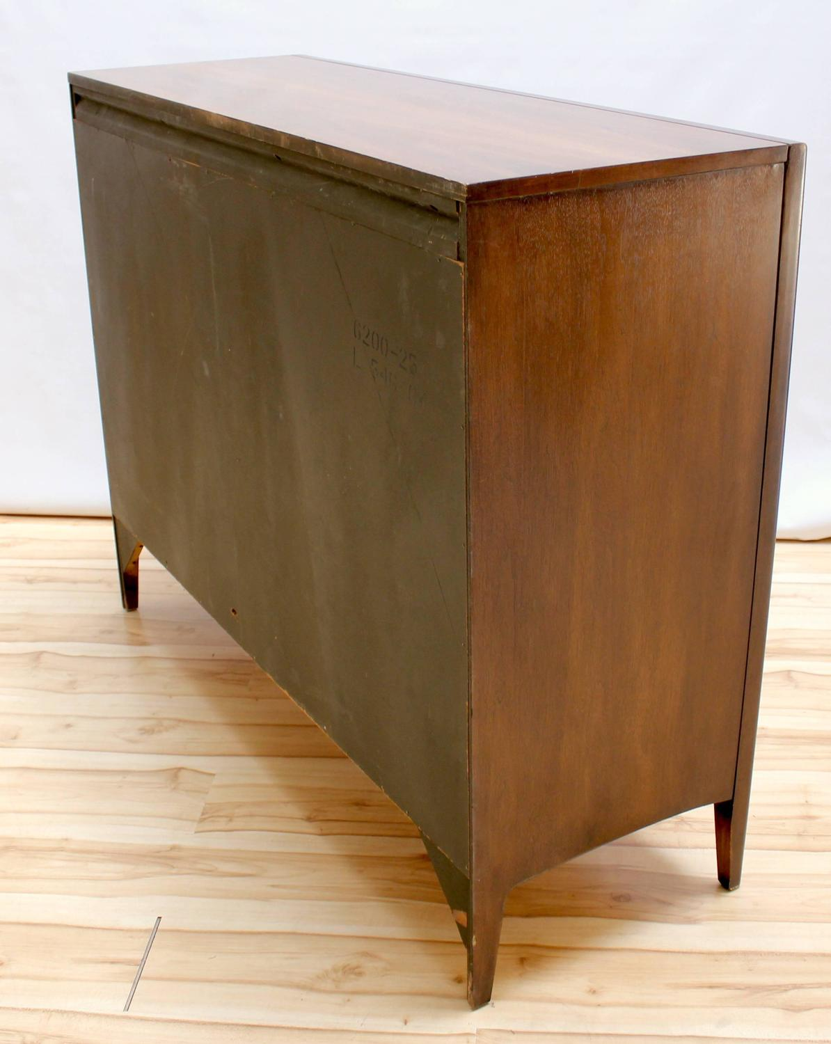 1960s broyhill emphasis walnut magna dresser at 1stdibs