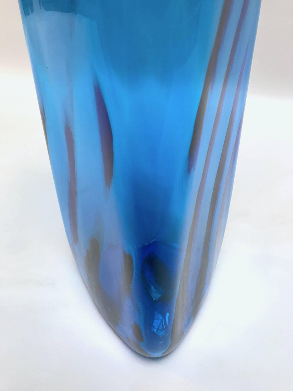 Mid Century Modern Blenko Floor Vase By Joel Myers At 1stdibs