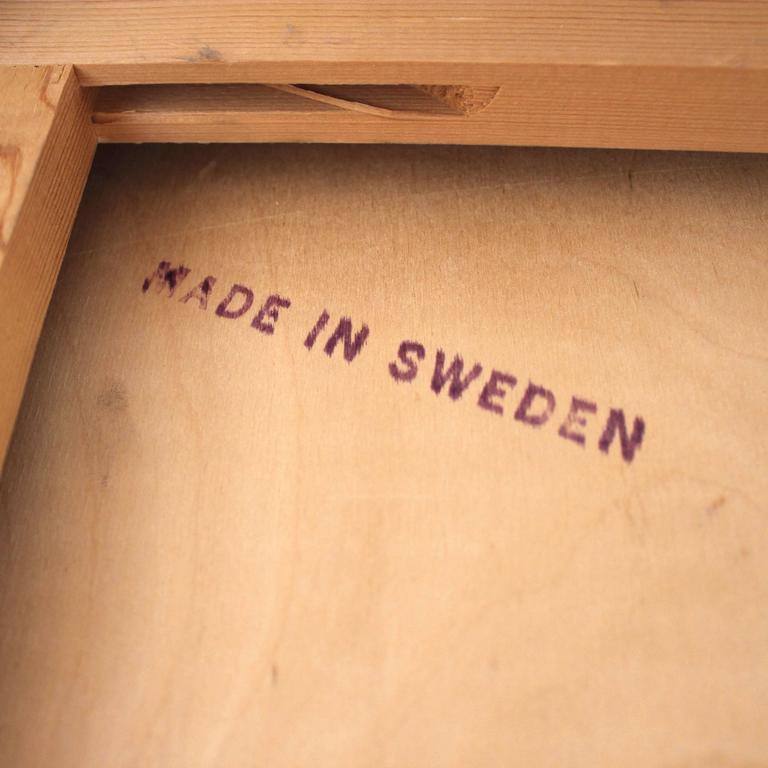 1960s Scandinavian Teak Roll Top Secretary Desk 10