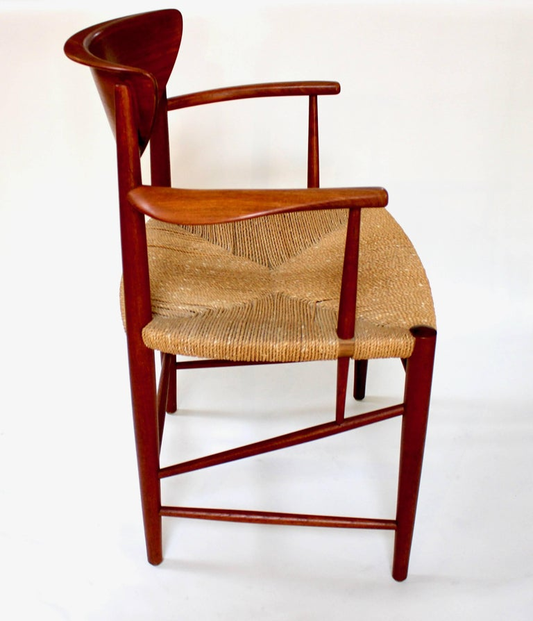Peter Hvidt And Orla Molgaard Nielsen Model 316 Teak Armchair At 1stdibs