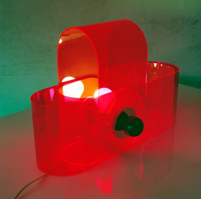 Italian Gherpe Lamp by Superstudio, Italy For Sale