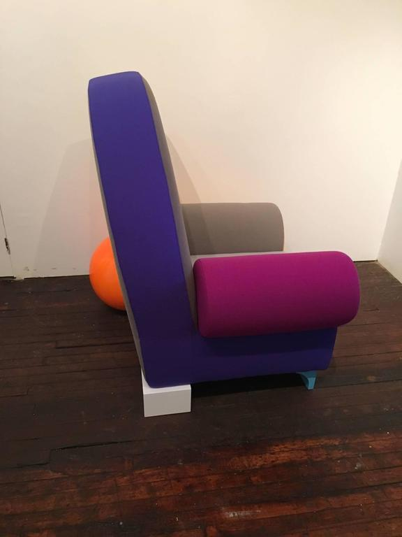 Bel Air Armchair By Peter Shire For Sale At 1stdibs
