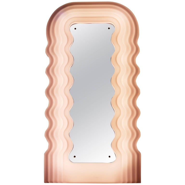 Ultrafragola mirror by ettore sottsass at 1stdibs for Miroir ultrafragola