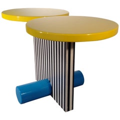Polar Table by Michele De Lucchi for Memphis