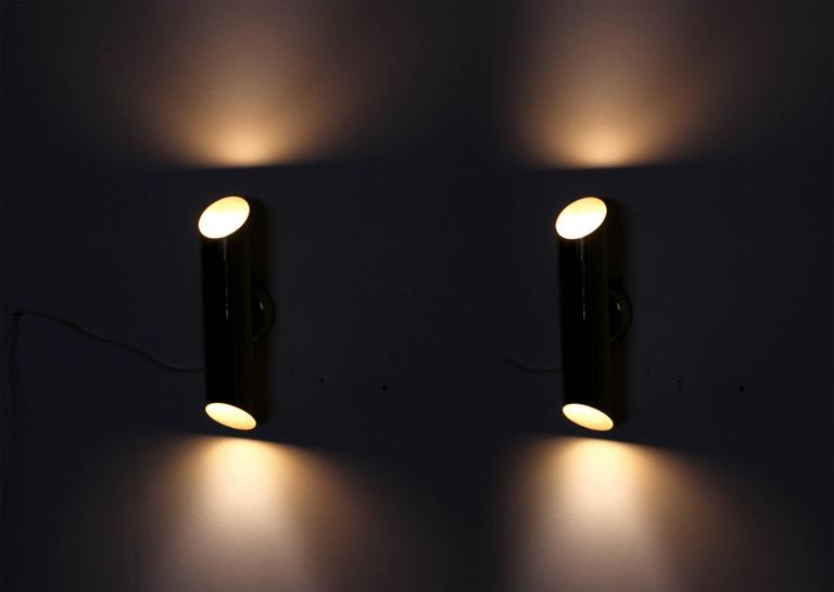 Scandinavian Wall Lights by Jonas Hidle for H?vik Lys, 1970s For Sale at 1stdibs