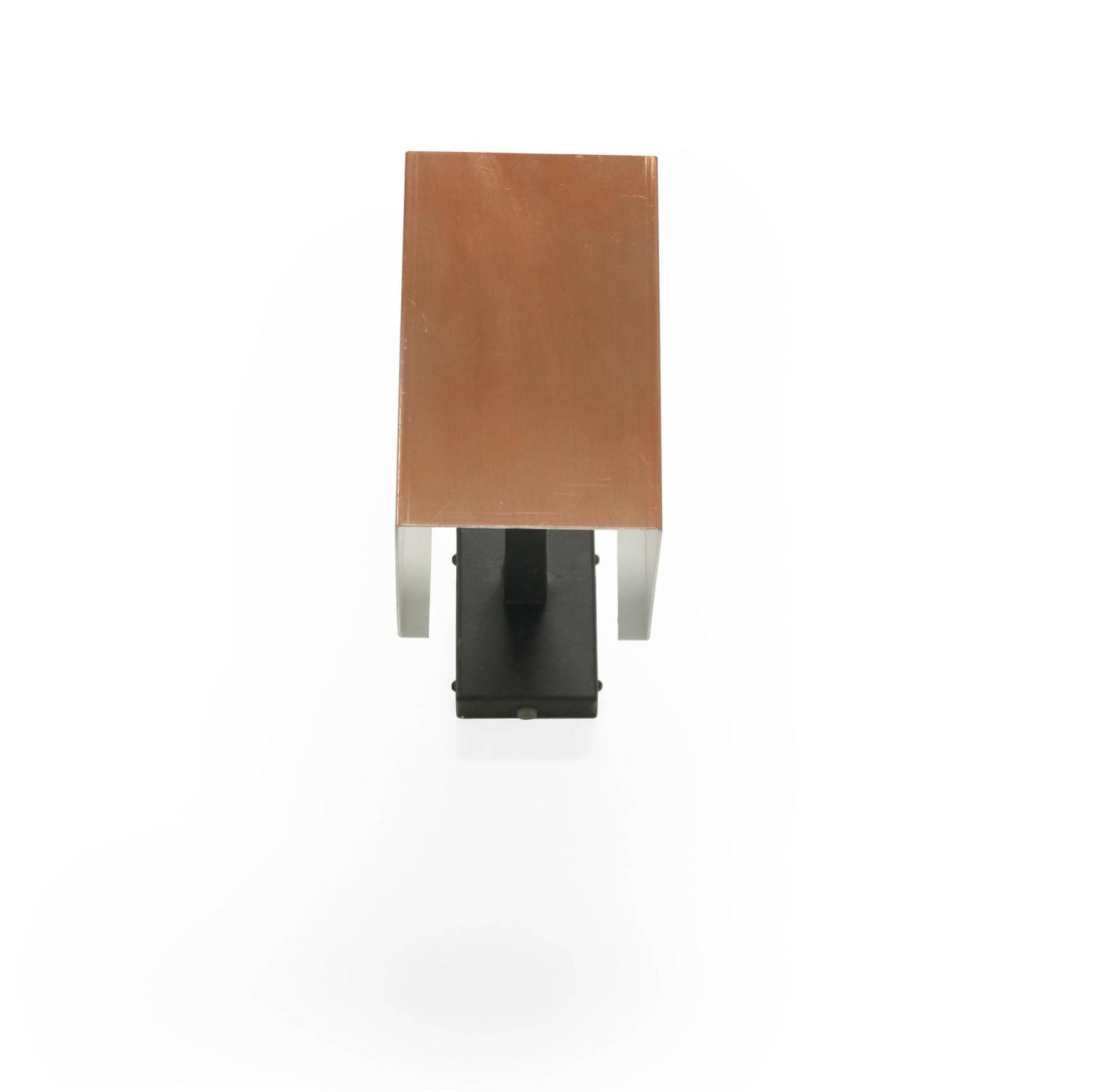 Set of Fourteen Scandinavian Wall Lights in Copper by Finn Lunde, 1970s For Sale at 1stdibs