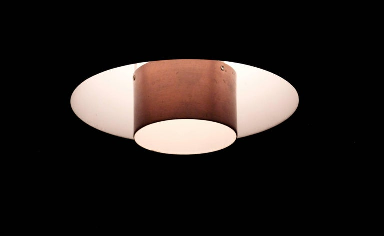 Mid-20th Century Scandinavian Ceiling Pendant, Norway, 1960s For Sale