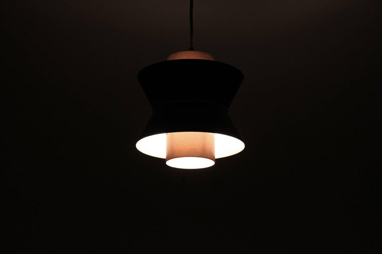 Scandinavian Ceiling Pendant, Norway, 1960s In Excellent Condition For Sale In Oslo, NO