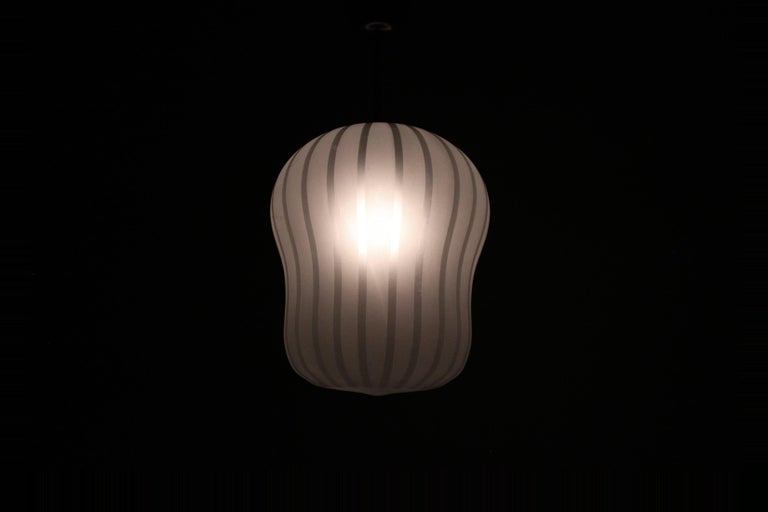 Mid-20th Century Large Functionalist Ceiling Light by Gunnel Nyman, Sweden, 1950s For Sale