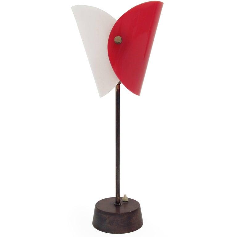 Midcentury Scandinavian Table Lamp from KLK, 1960s