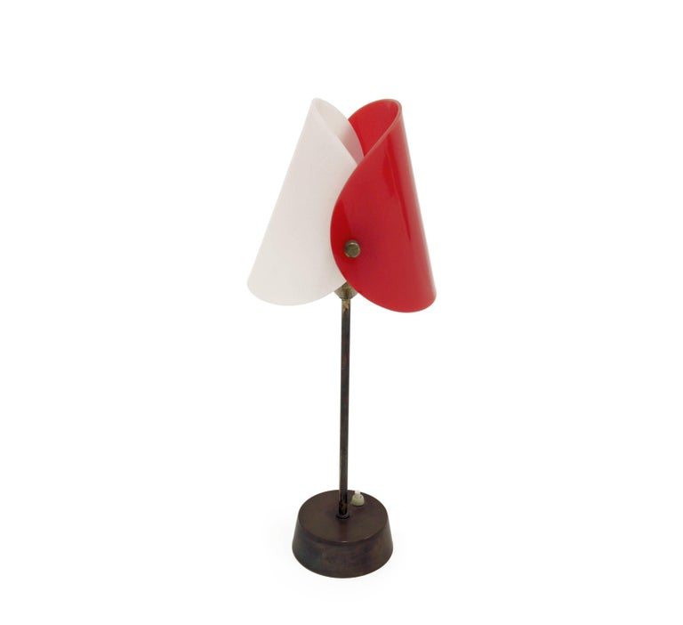 Midcentury Scandinavian Table Lamp from KLK, 1960s In Good Condition In Oslo, NO