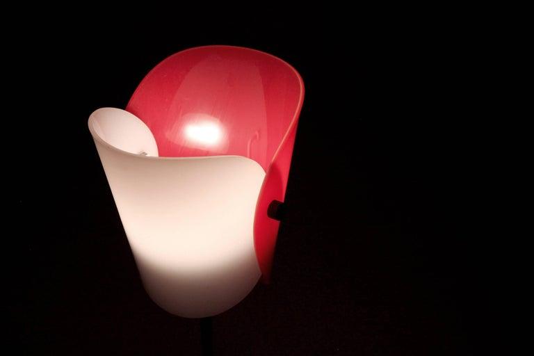 Midcentury Scandinavian Table Lamp from KLK, 1960s 2