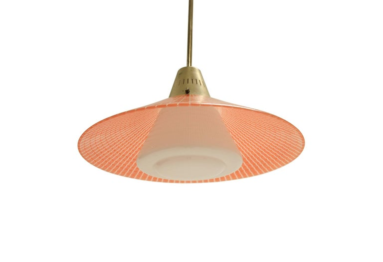 Mid-Century Modern Scandinavian Light by Tr&Co, Norway, 1960s For Sale