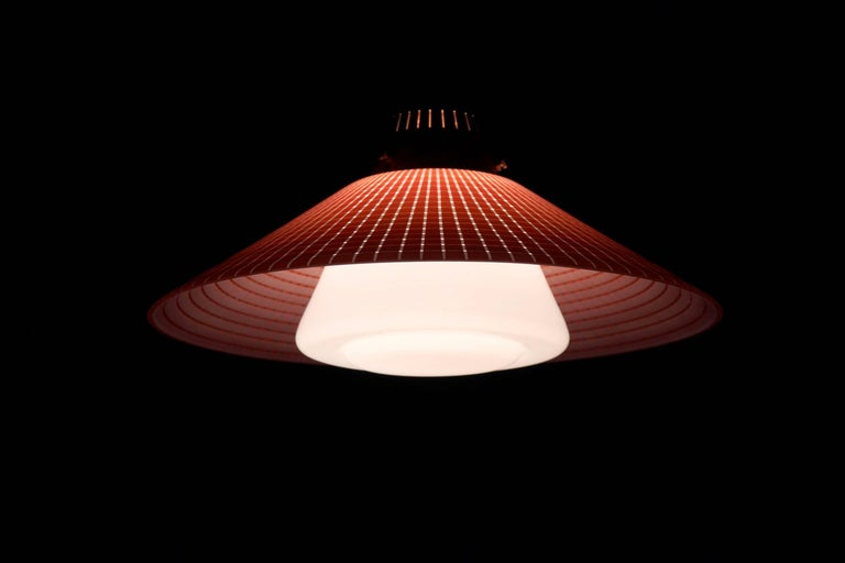Mid-20th Century Scandinavian Light by Tr&Co, Norway, 1960s For Sale