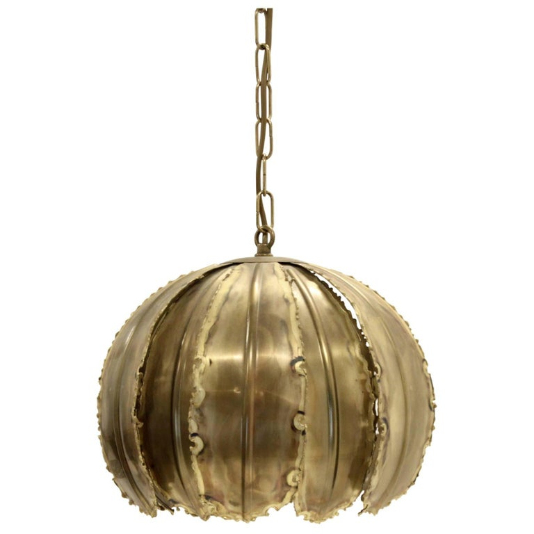 Ceiling Pendant 'Poppy' by Svend Aage Holm Sorensen, 1970s For Sale