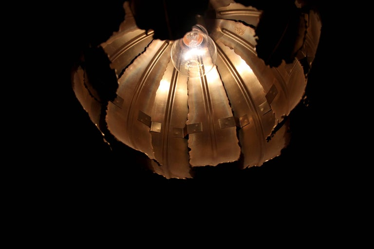 Ceiling Pendant 'Poppy' by Svend Aage Holm Sorensen, 1970s For Sale 3