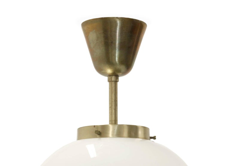 Norwegian Ceiling Lights in Brass by Birger Dahl for Sønnico, 1960s For Sale