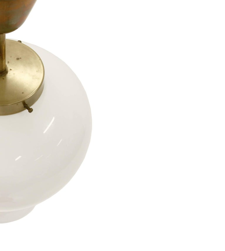 Ceiling Lights in Brass by Birger Dahl for Sønnico, 1960s In Good Condition For Sale In Oslo, NO