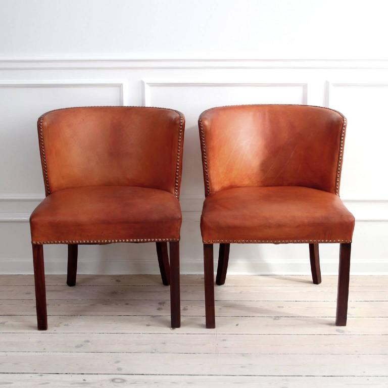 Pair of easy chairs.