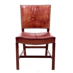Kaare Klint Red Chairs Scandinavian Modern