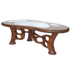 Craig Lauterbach Freeform Sculptural Coffee Table