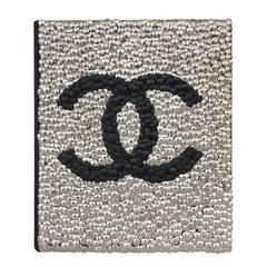 Silver Adorned Chanel Fashion Book by Brian Stanziale