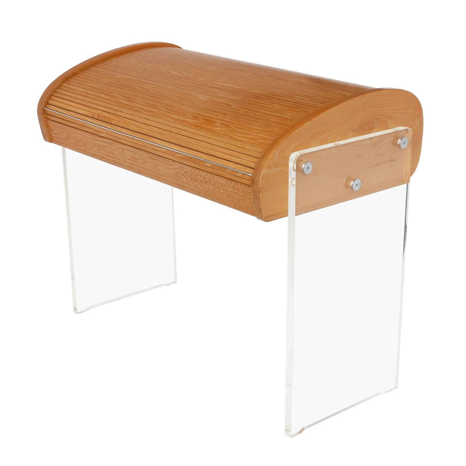 Vladimir Kagan Roll Top Writing Desk at 1stdibs