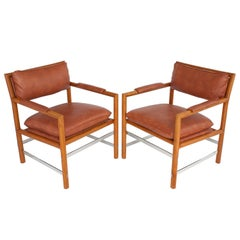 "Pair of ""Edward's Chairs"" by Edward Wormley for Dunbar"