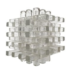 Stacked Glass Table Lamp by Albano Poli for Poliarte