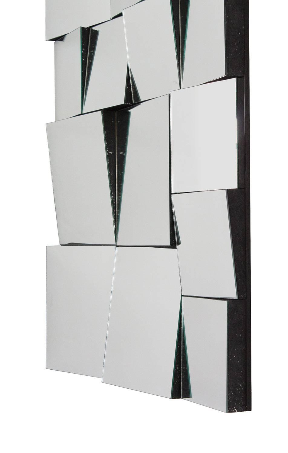 Neal small style slopes wall mirror at 1stdibs for Small wall mirrors