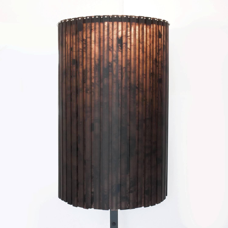 fringe floor lamp by martha sturdy for sale at 1stdibs. Black Bedroom Furniture Sets. Home Design Ideas