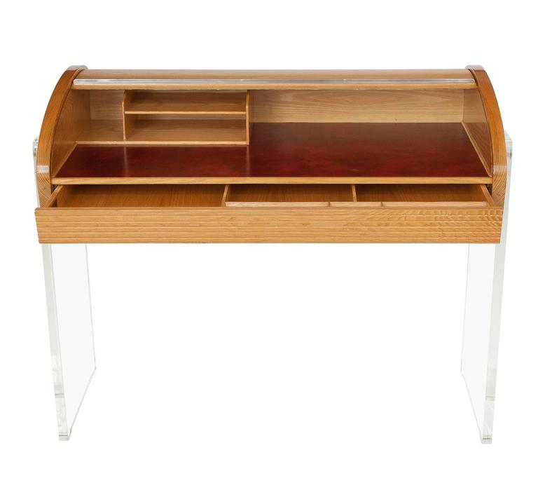 American Vladimir Kagan Roll Top Writing Desk