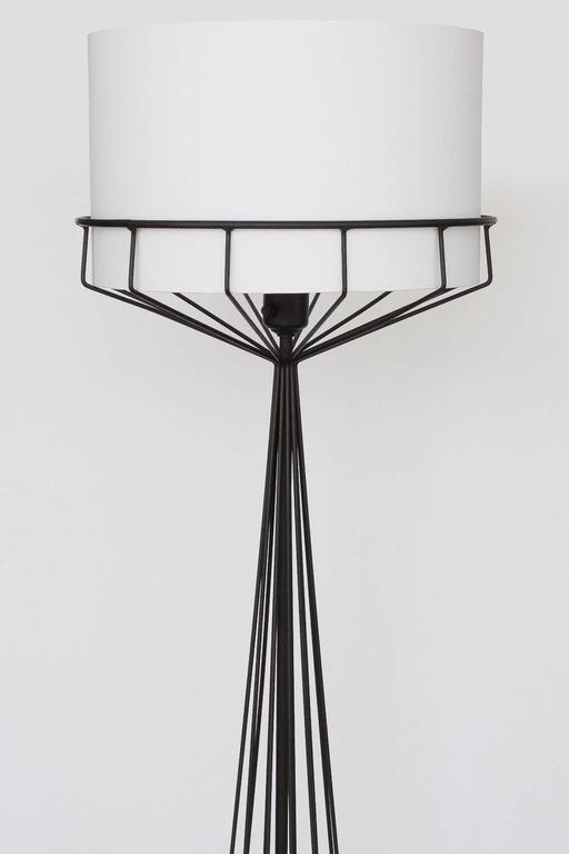 Tony paul black iron wire frame floor lamp at 1stdibs black wire frame floor lamp designed by tony paul from the wire series circa 1950s keyboard keysfo Gallery