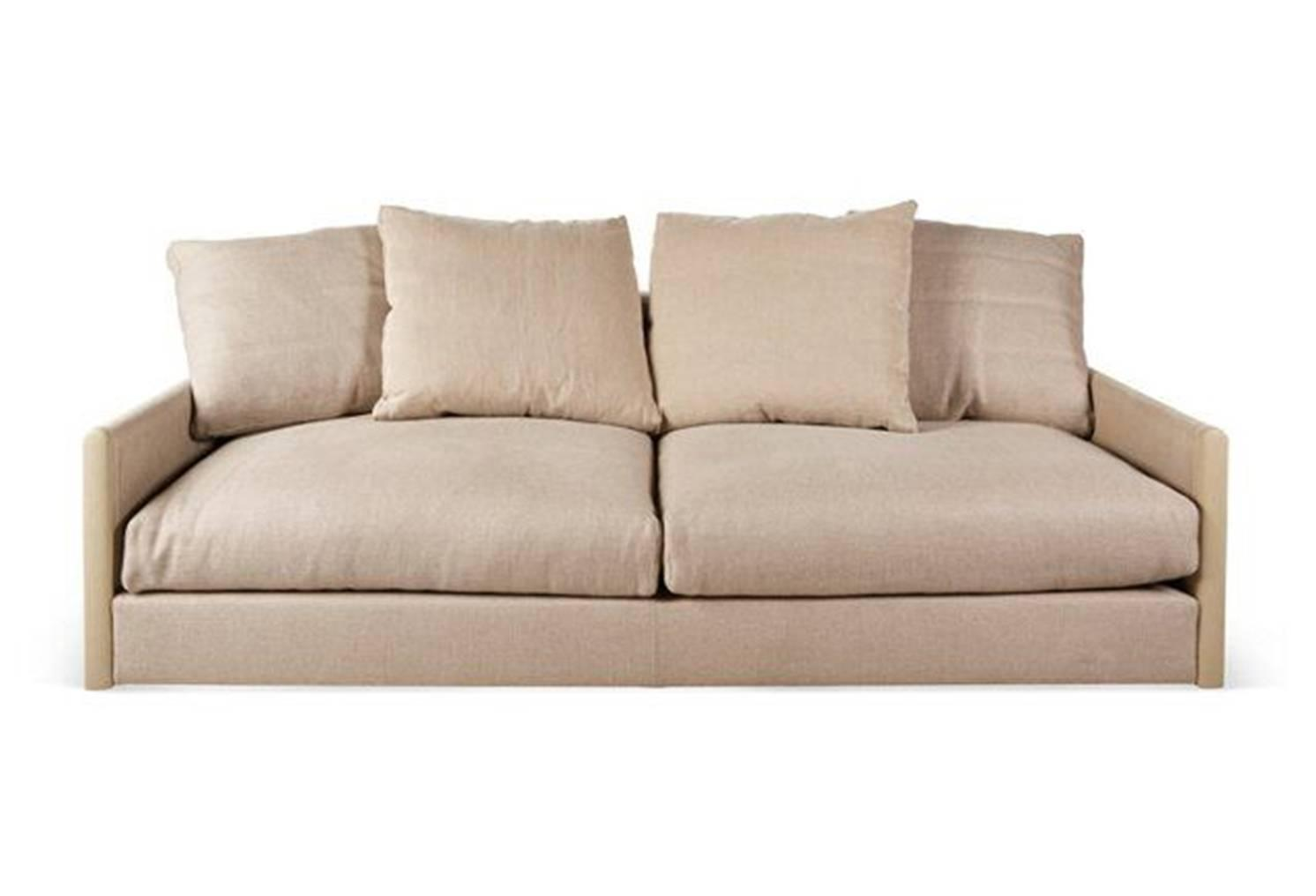 Giorgetti wally sofa in fabric for sale at 1stdibs for Fabric couches for sale